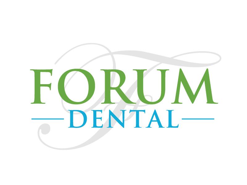 Forum Dental logo design by ElonStark