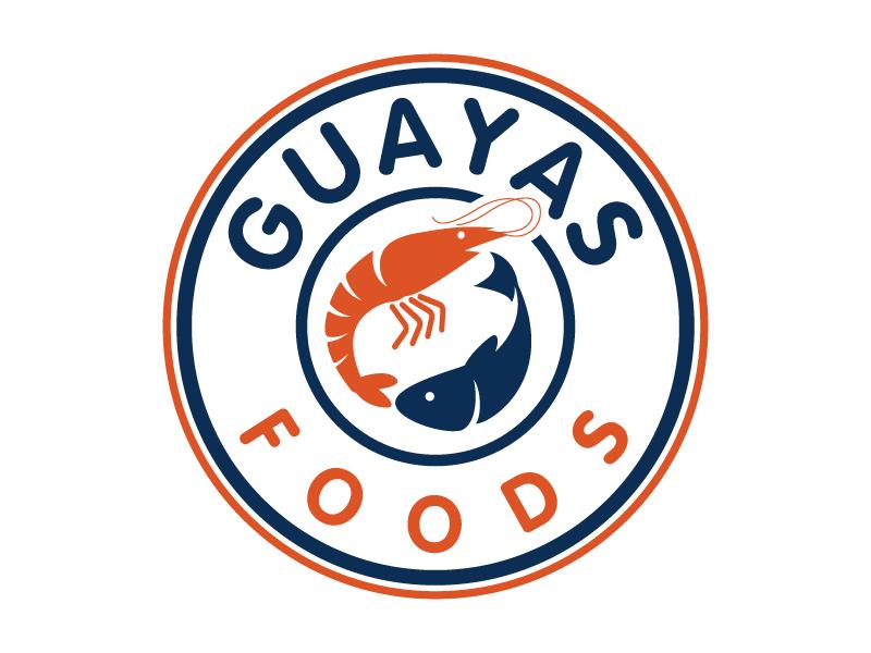 GUAYAS FOODS logo design by jaize