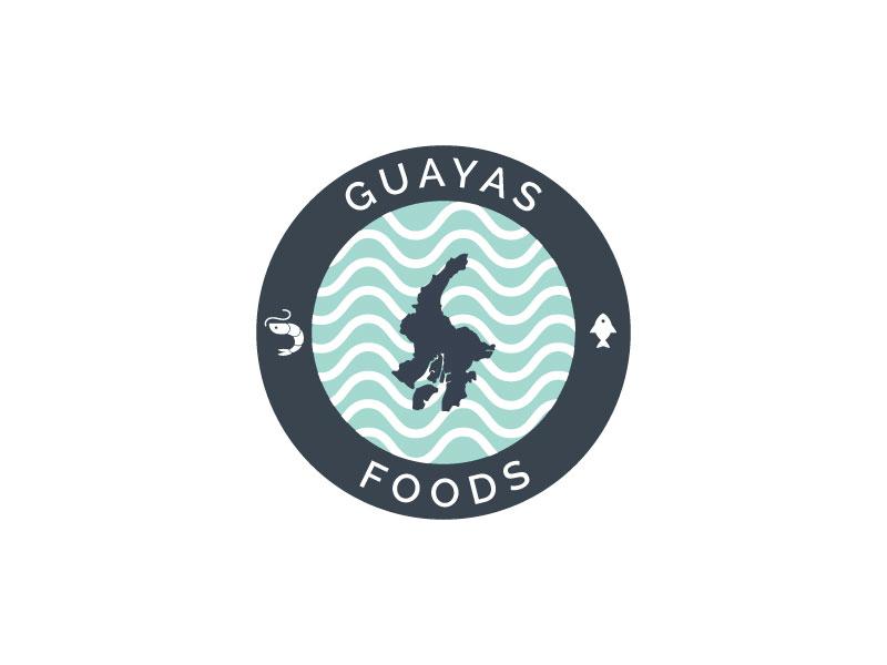 GUAYAS FOODS logo design by Erasedink