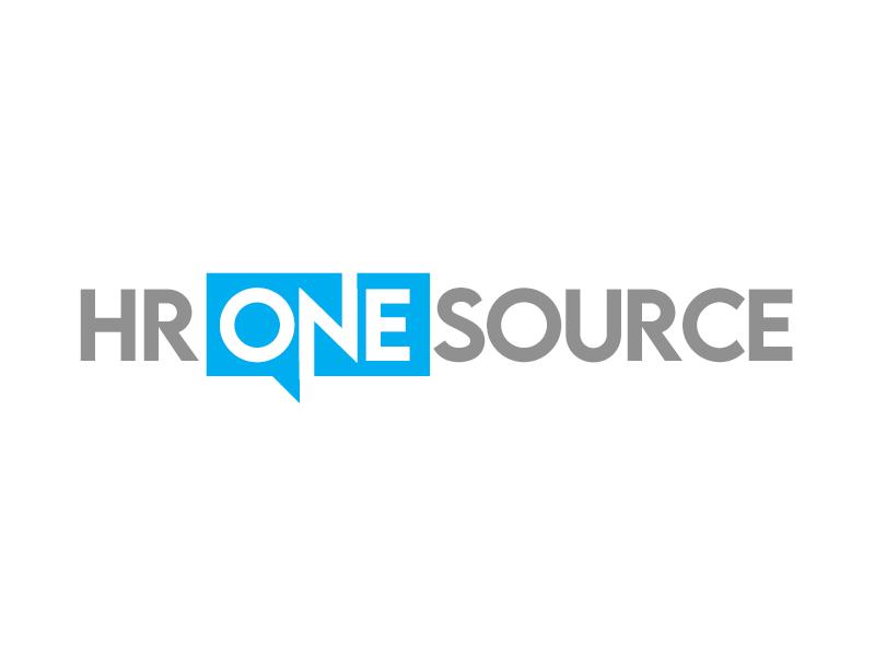 HR One Source logo design by kunejo