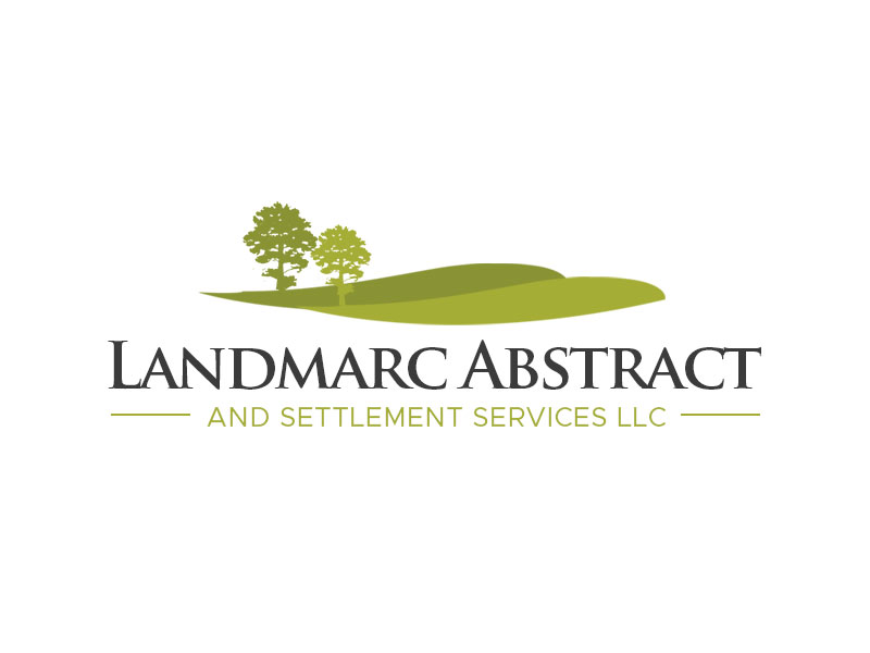 Landmarc Abstract and Settlement Services LLC logo design by kunejo