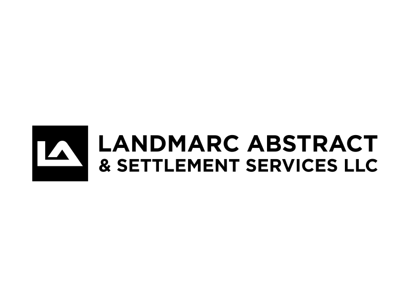 Landmarc Abstract and Settlement Services LLC logo design by cintoko