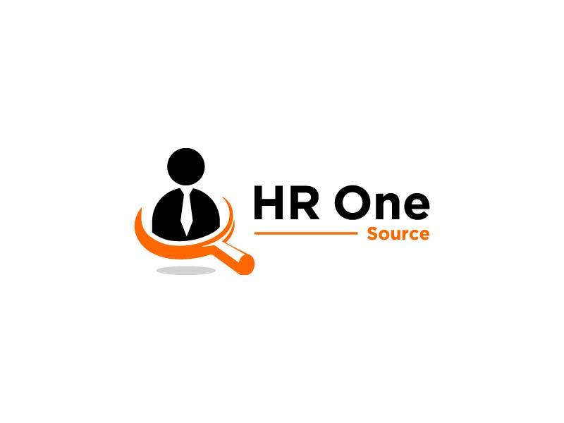 HR One Source logo design by jafar