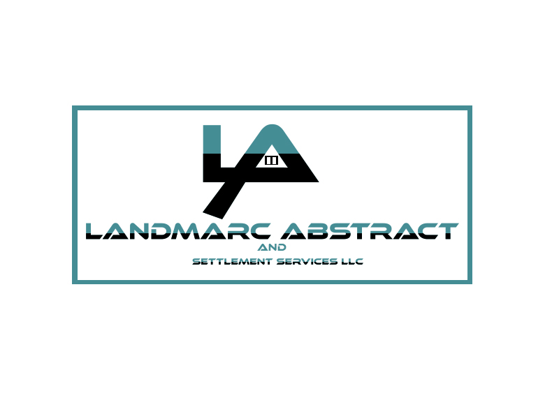 Landmarc Abstract and Settlement Services LLC logo design by ivonk