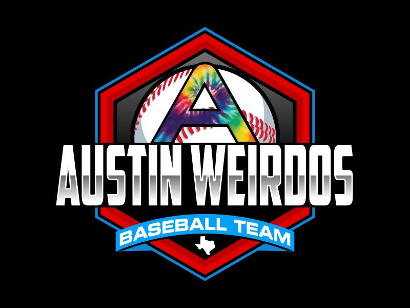 Austin Weirdos Baseball Team logo design by Suvendu