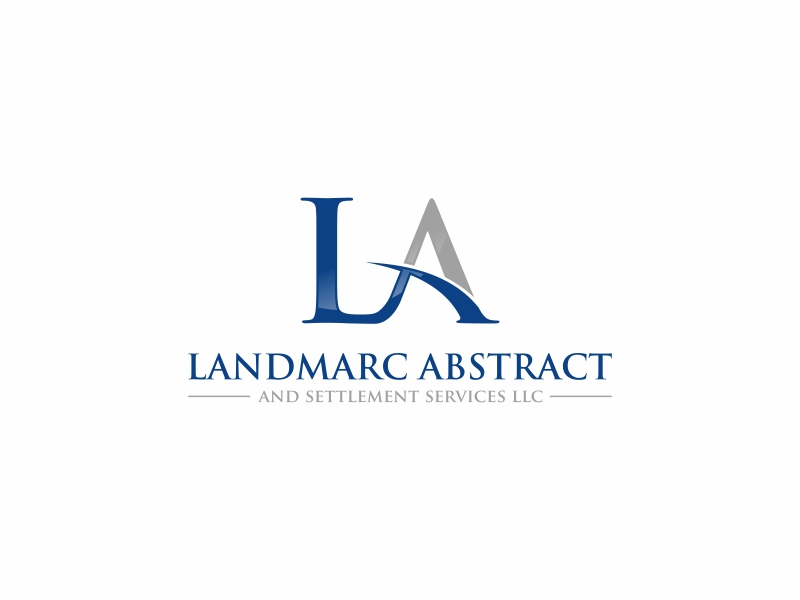 Landmarc Abstract and Settlement Services LLC logo design by Zeratu