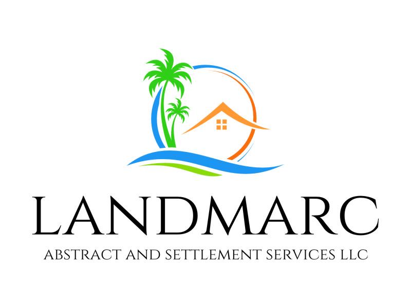 Landmarc Abstract and Settlement Services LLC logo design by jetzu