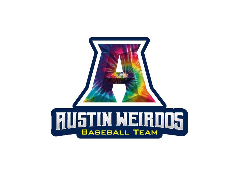 Austin Weirdos Baseball Team logo design by reight
