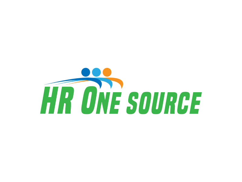 HR One Source logo design by reight