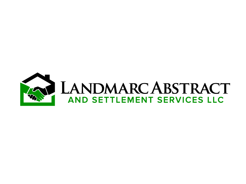 Landmarc Abstract and Settlement Services LLC logo design by jaize