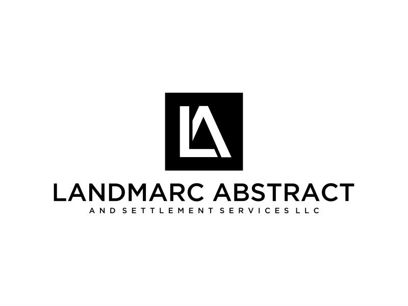 Landmarc Abstract and Settlement Services LLC logo design by mukleyRx