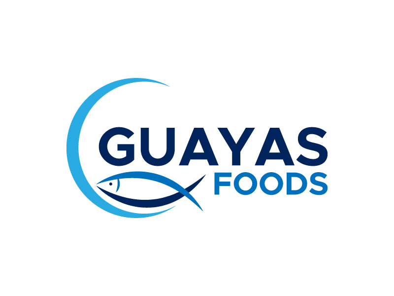 GUAYAS FOODS logo design by denfransko