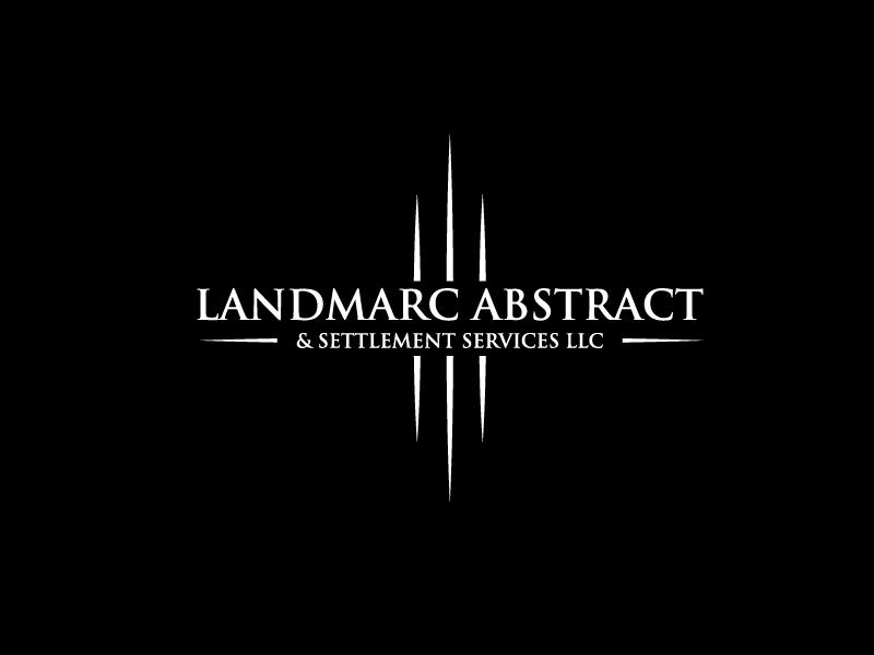 Landmarc Abstract and Settlement Services LLC logo design by bigboss