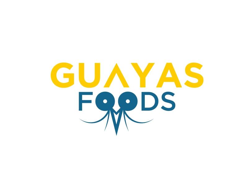 GUAYAS FOODS logo design by banaspati