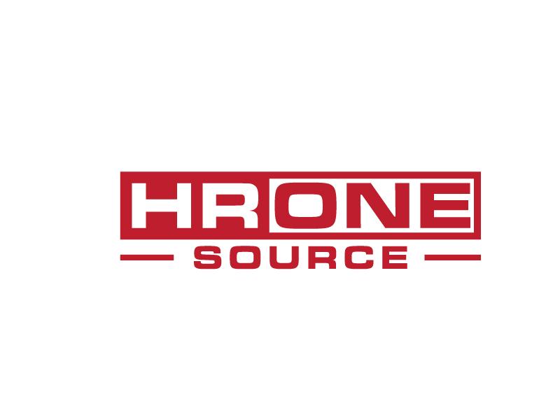 HR One Source logo design by bigboss
