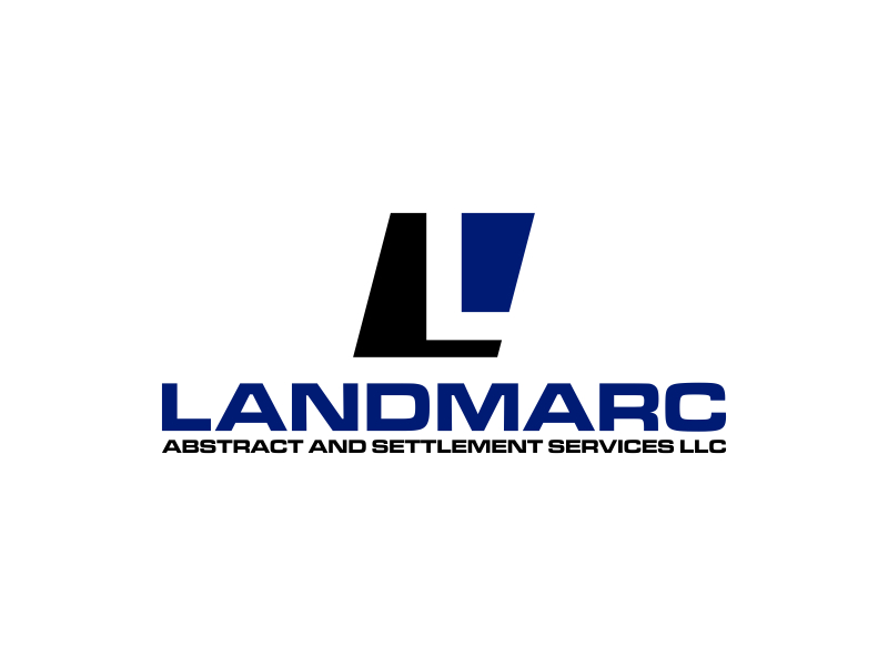 Landmarc Abstract and Settlement Services LLC logo design by Amne Sea