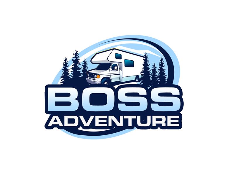 Boss Adventure logo design by kunejo