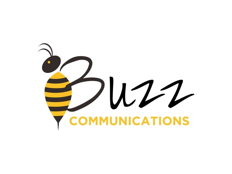 Buzz Communications logo design by GassPoll