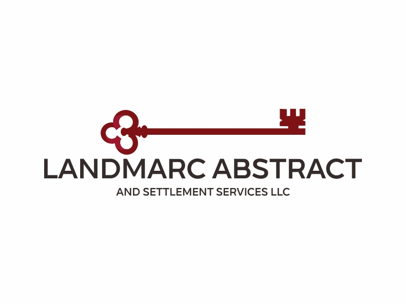 Landmarc Abstract and Settlement Services LLC logo design by Greenlight
