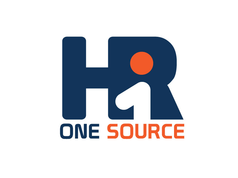 HR One Source logo design by Logoboffin