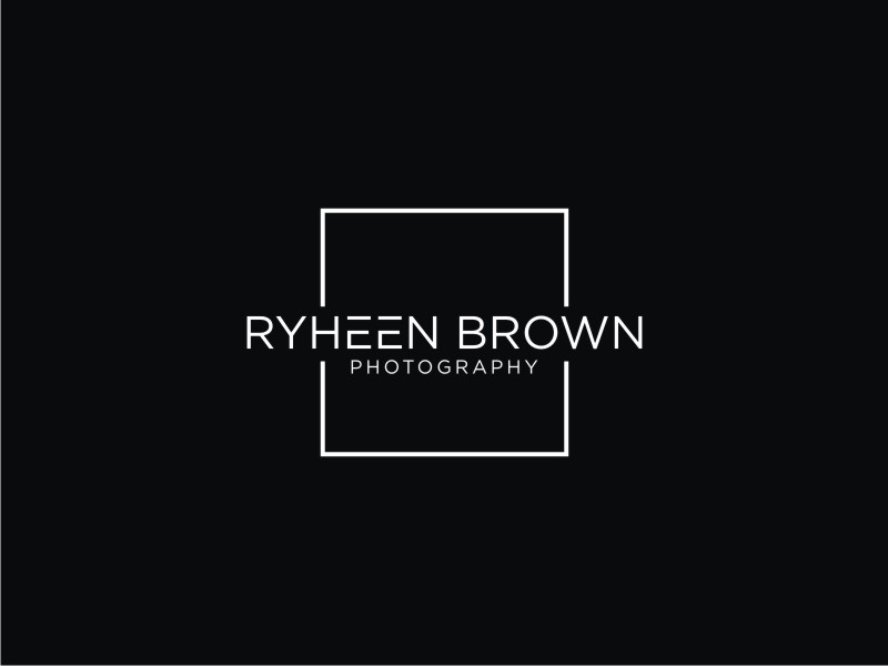 Ryheen Brown Photography logo design by Adundas