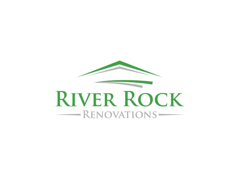 River Rock Renovations logo design by Neng Khusna
