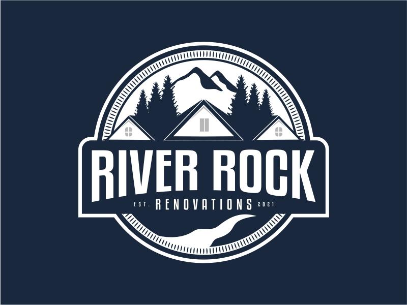 River Rock Renovations logo design by Alfatih05