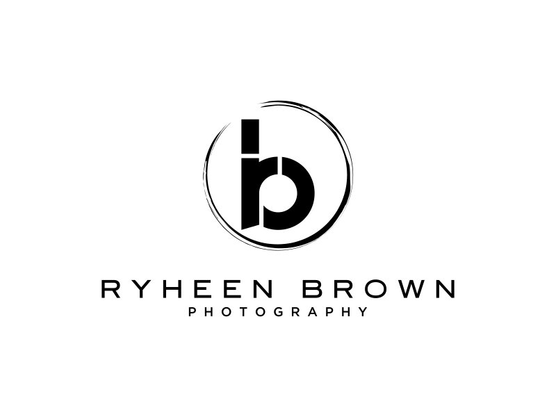 Ryheen Brown Photography logo design by DeyXyner