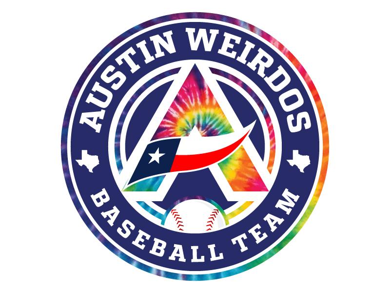 Austin Weirdos Baseball Team Logo Design