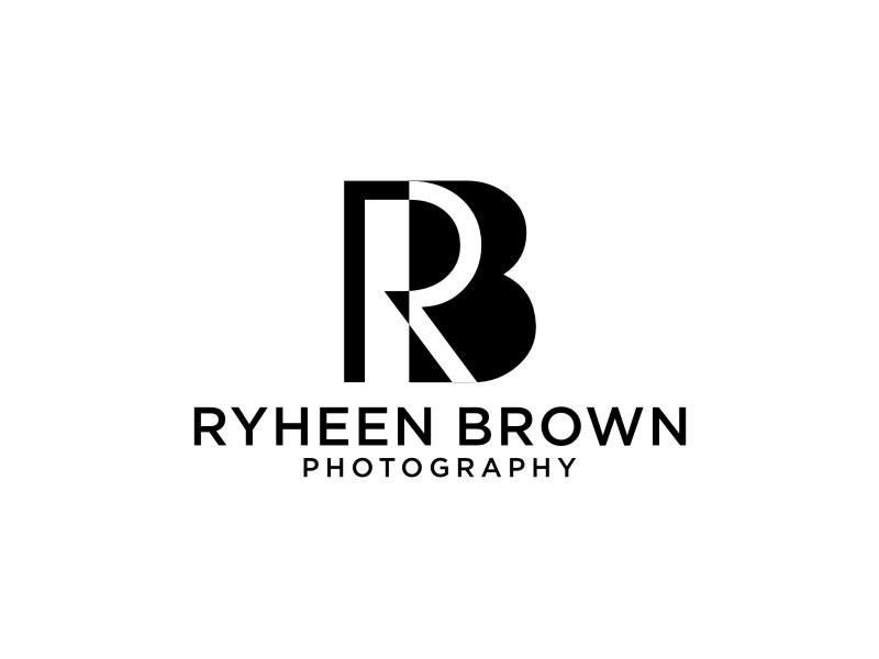 Ryheen Brown Photography logo design by sheila valencia