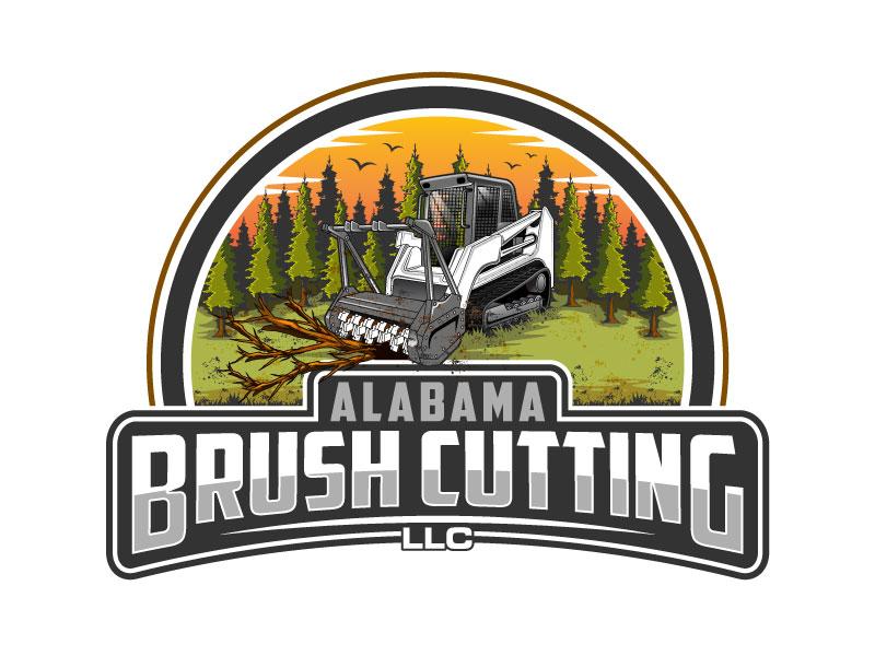 Alabama Brush Cutting, LLC logo design by Suvendu