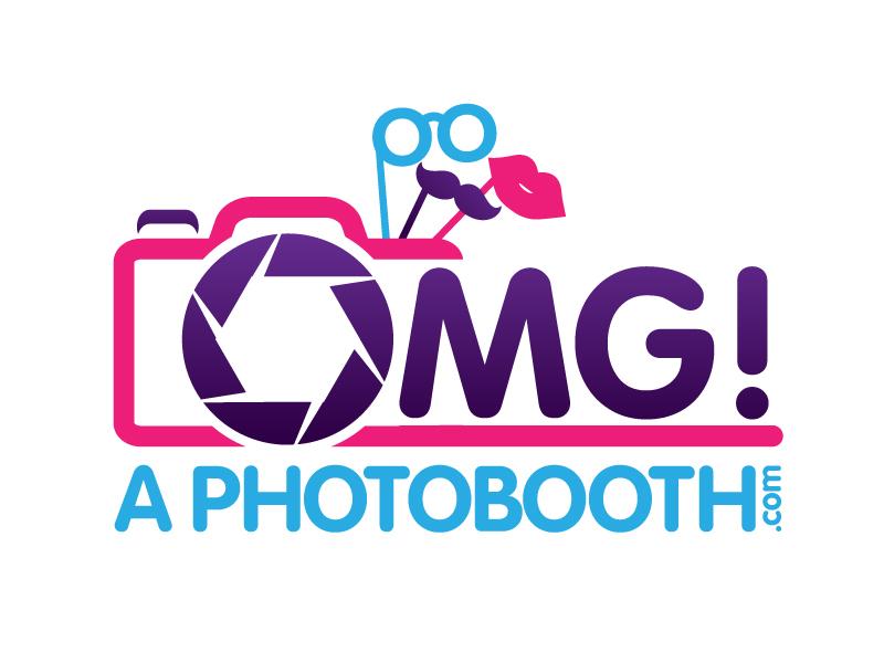 OMG! A Photobooth optional; .com logo design by jaize