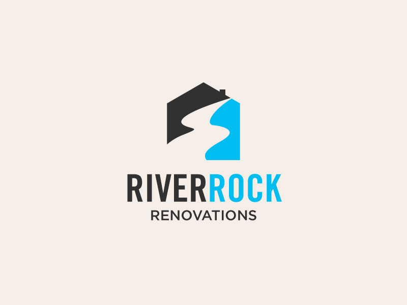 River Rock Renovations logo design by torresace