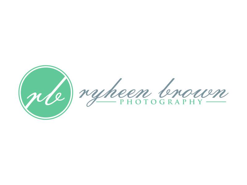 Ryheen Brown Photography logo design by menanagan