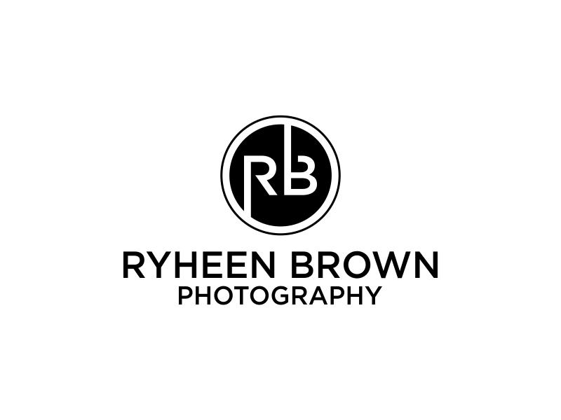 Ryheen Brown Photography logo design by banaspati