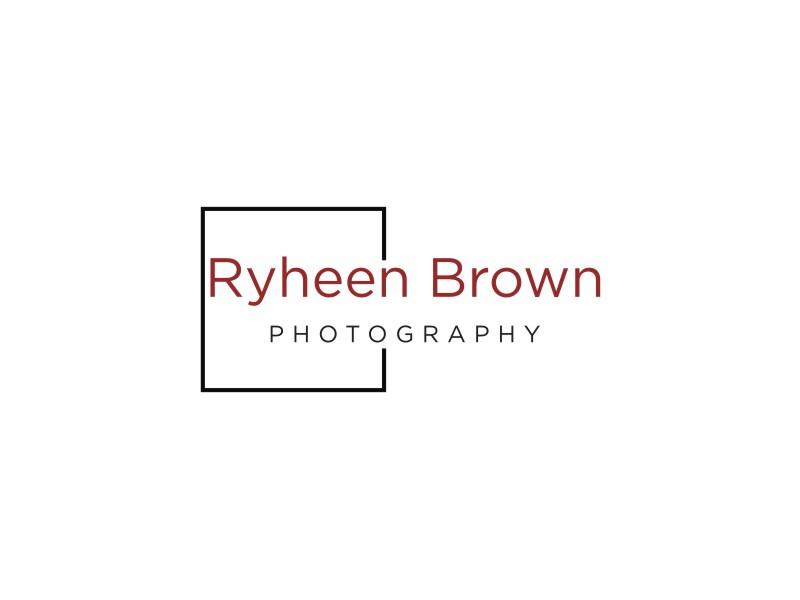 Ryheen Brown Photography logo design by KQ5