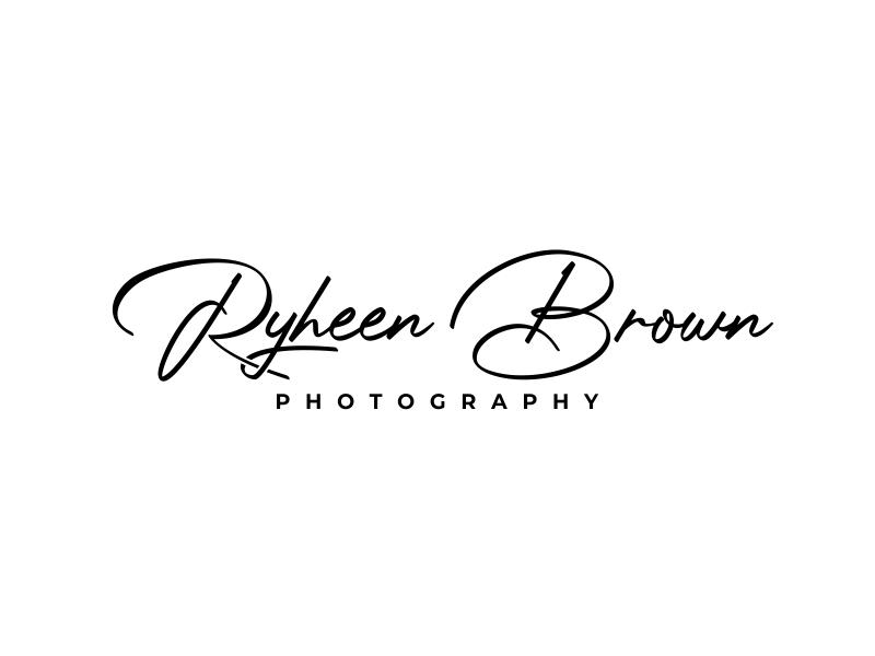 Ryheen Brown Photography logo design by ekitessar