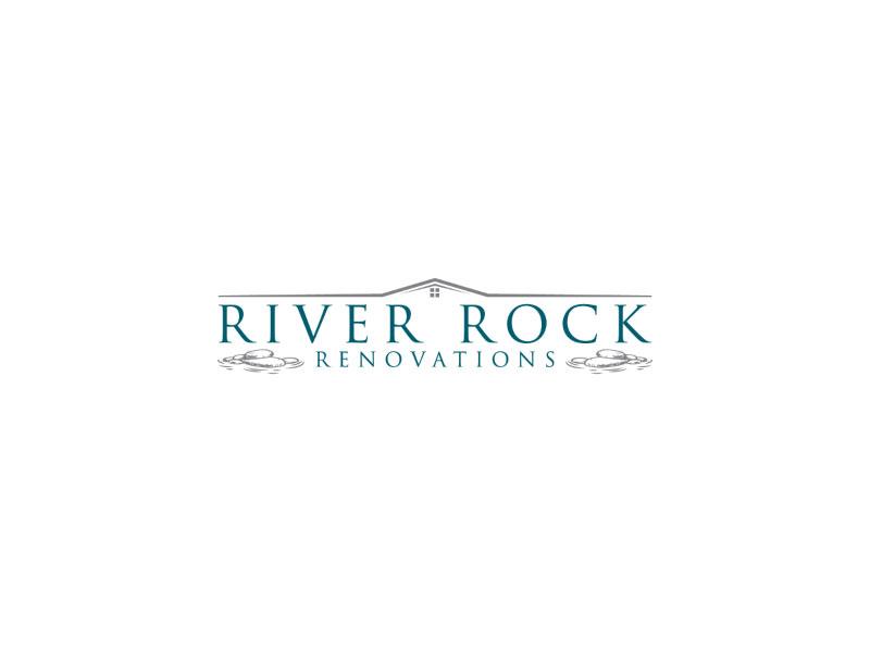 River Rock Renovations logo design by nona