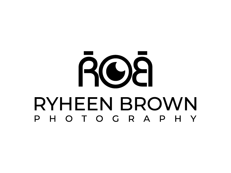 Ryheen Brown Photography logo design by aganpiki