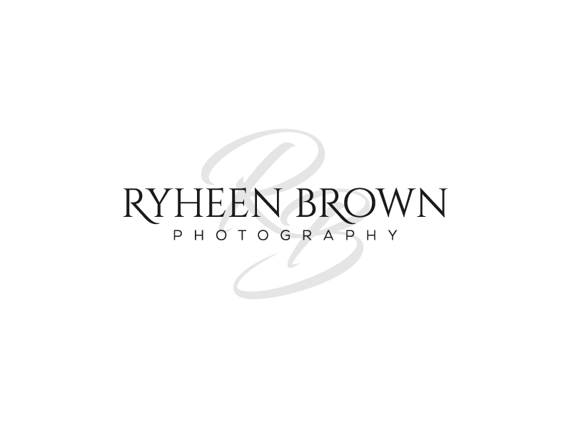 Ryheen Brown Photography logo design by pencilhand