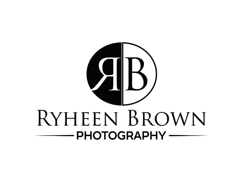 Ryheen Brown Photography logo design by Greenlight