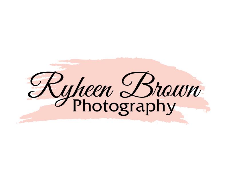 Ryheen Brown Photography logo design by ElonStark