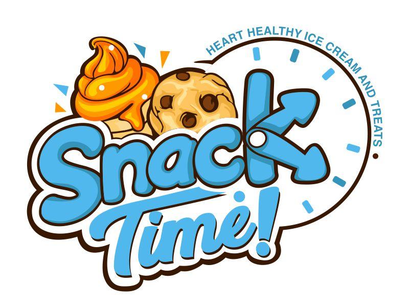 Snack Time! Logo Design