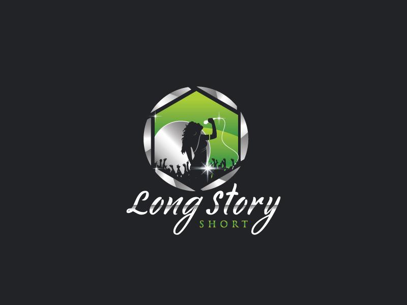 Long Story Short logo design by Webphixo