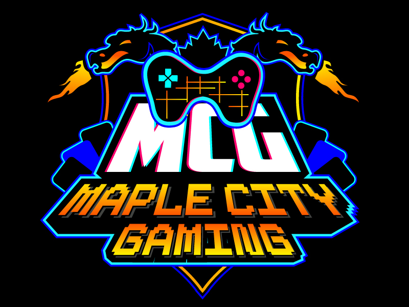 MCG / Maple City Gaming logo design by REDCROW