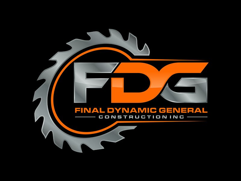 Final Dynamic General Construction Inc. Logo Design