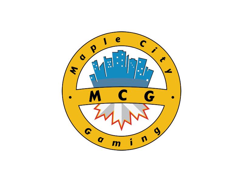 MCG / Maple City Gaming logo design by planoLOGO