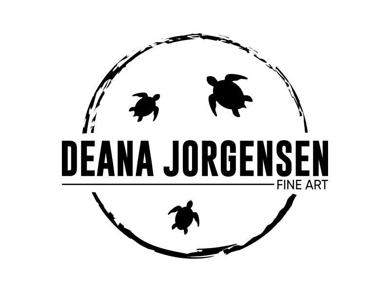 Deana Jorgensen Fine Art logo design by qqdesigns
