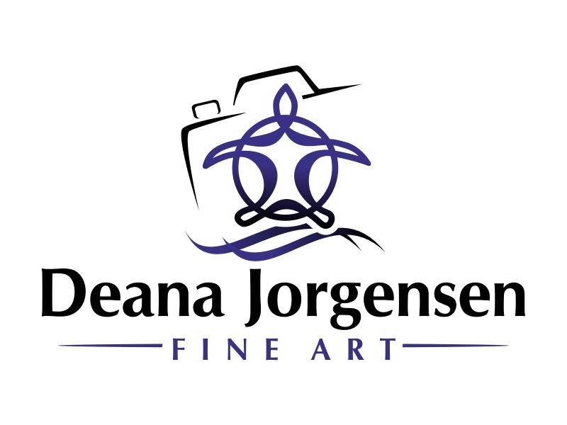 Deana Jorgensen Fine Art logo design by ruki