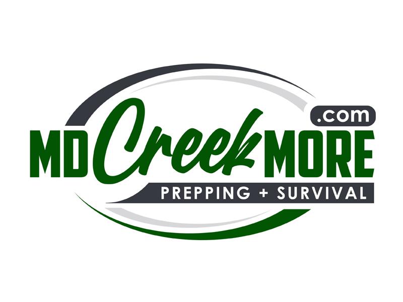 MDCreekmore.com - Prepping + Survival logo design by MAXR